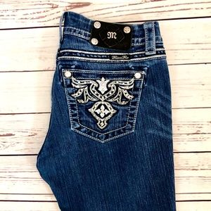 Miss Me Easy Skinny Jeans, size 28x31